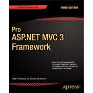 Pro ASP. NET MVC 3 Framework by Freeman, Adam, 9781430234043
