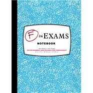 F in Exams Notebook by Chronicle Books Llc, 9781452144047