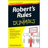 Robert's Rules for Dummies + Website by Jennings, C. Alan, 9781118294048