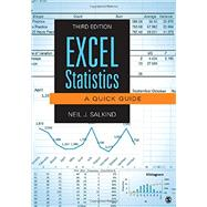 Excel Statistics by Salkind, Neil J., 9781483374048