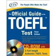 The Official Guide to the TOEFL iBT with CD-ROM, Third Edition by Unknown, 9780071624053