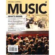 MUSIC2 (with CourseMate Printed Access Card) by Campbell, Michael, 9781285454054