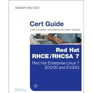 Red Hat RHCSA/RHCE 7 Cert Guide Red Hat Enterprise Linux 7 (EX200 and EX300) by van Vugt, Sander, 9780789754059