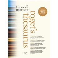 The American Heritage Roget's Thesaurus by Editors of the American Heritage Dictionaries, 9780547964065