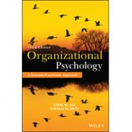 Organizational Psychology by Jex, Steve M.; Britt, Thomas W., 9781118724071