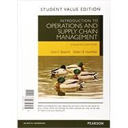 Introduction to Operations and Supply Chain Management, Student Value Edition Plus MyOMLab with Pearson eText -- Access Card Package by Bozarth, Cecil B.; Handfield, Robert B., 9780134104072