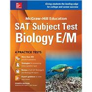 McGraw-Hill Education SAT Subject Test Biology E/M 4th Ed. by Zinn, Stephanie, 9781259584077