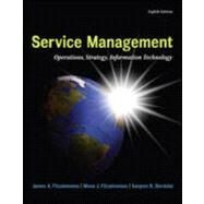 MP Service Management with Service Model Software Access Card, 8th Edition by Fitzsimmons, James;   Fitzsimmons, Mona, 9780078024078