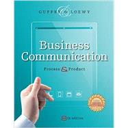 Business Communication Process & Product (Book Only) by Guffey, Mary Ellen; Loewy, Dana, 9781285094083
