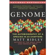 Genome: The Autobiography of a Species in 23 Chapters by Ridley, Matt, 9780060894085