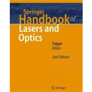 Springer Handbook of Lasers and Optics by Trager, Frank, 9783642194085