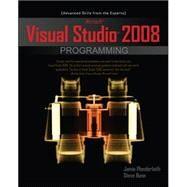 Microsoft Visual Studio 2008 Programming by Plenderleith, Jamie; Bunn, Steve, 9780071604086