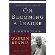 On Becoming a Leader by Bennis, Warren, 9780465014088