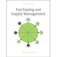 Purchasing and Supply Management by Johnson, P. Fraser; Flynn, Anna, 9780078024092