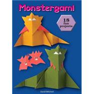 Monstergami by Mitchell, David, 9781770854093