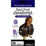 Head First Javascript Code Magnet: Brain-friendly Learning by O'Reilly Media, 9780596154097