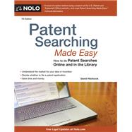 Patent Searching Made Easy by Hitchcock, David, 9781413324099
