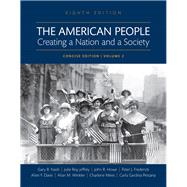 The American People Creating a Nation and a Society, Volume II, Books a la Carte Edition by Nash, Gary B; Jeffrey, Julie Roy; Howe, John R.; Winkler, Allan M.; Davis, Allen F.; Mires, Charlene; Frederick, Peter J.; Pestana, Carla Gardina, 9780134584102
