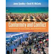 Conformity and Conflict Readings in Cultural Anthropology by Spradley, James W., Late; McCurdy, David W., 9780205234103