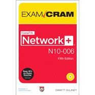 CompTIA Network+ N10-006 Exam Cram by Dulaney, Emmett, 9780789754103