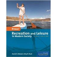 Kraus' Recreation and Leisure in Modern Society by McLean, Daniel D., Ph.D.; Hurd, Amy R., Ph.D., 9781284034103
