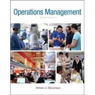 Operations Management by Stevenson, William J, 9780078024108
