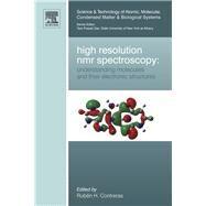 High Resolution NMR Spectroscopy by Contreras, Ruben H., 9780444594112