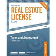 Master the Real Estate License Exam: Taxes and Assessments : Chapter 12 Of 14 by Peterson's, 9780768934113