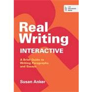 Real Writing Interactive by Anker, Susan, 9781457654114