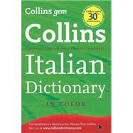 Collins Gem Italian Dictionary by Harpercollins Publishers Ltd., 9780007414116