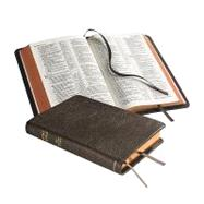 NASB Pitt Minion Reference Edition NS446XR Brown Goatskin Leather by Bible, 9780521604116