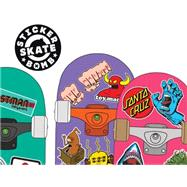 Stickerbomb Skate: 150 Classic Skateboard Stickers by Studio Rarekwai, 9781780674124