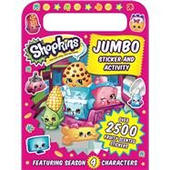 Shopkins Jumbo Sticker and Activity by Sizzle Press, 9781499804126