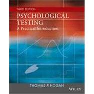 Psychological Testing by Hogan, Thomas P., 9781118554128