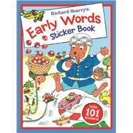 Richard Scarry's Early Words Sticker Book by Scarry, Richard, 9781438004129