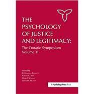 The Psychology of Justice and Legitimacy by Bobocel; D. Ramona, 9781138984134