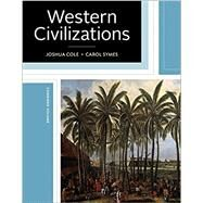 WESTERN CIVILIZATIONS (COMPLETE) by Unknown, 9780393284140