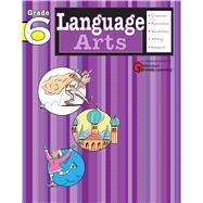 Language Arts: Grade 6 (Flash Kids Harcourt Family Learning) by Unknown, 9781411404144