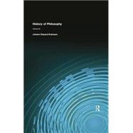 History of Philosophy: Volume III by Erdmann, Johann Eduard, 9781138884151