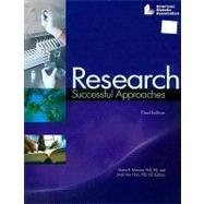 Research : Successful Approaches by Monsen, Elaine R., 9780880914154
