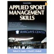 Applied Sport Management Skills-2nd Edition With Web Study G