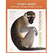 Study Guide for Biological Science by Freeman, Scott; Quillin, Kim; Allison, Lizabeth; Black, Michael; Podgorski, Greg; Taylor, Emily; Carmichael, Jeff; Burggren, Warren, 9780134254159
