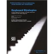 Keyboard Strategies by Hal Leonard Publishing Corporation; Stecher, Melvin, 9780793564163