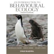 An Introduction to Behavioural Ecology by Davies, Nicholas B.; Krebs, John R.; West, Stuart A., 9781405114165