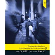 Communication Law by Caristi; Dominic G., 9780205504169