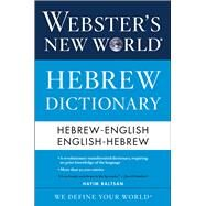 Webster's New World Hebrew Dictionary by Baltsan, Hayim, 9780544944169