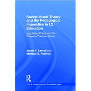 Sociocultural Theory and the Pedagogical Imperative in L2 Education: Vygotskian Praxis and the Research/Practice Divide by Lantolf; James P., 9780415894173
