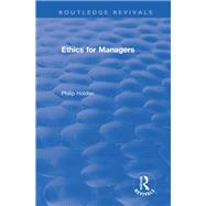 Ethics for Managers by Holden,Philip, 9781138634176