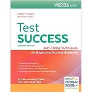 Test Success: Test-taking Techniques for Beginning Nursing Students by Nugent, Patricia; Vitale, Barbara, 9780803644182