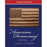The American Democracy Texas Edition by Patterson, Thomas; Halter, Gary, 9780077424183